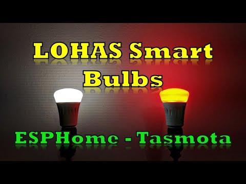 Smart Bulbs with Tasmota & ESPHome - Home Assistant - digiblurDIY