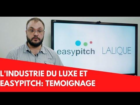 Témoignage de Lalique sur l'utilisation de l'écran interactif dans l'industrie du luxe