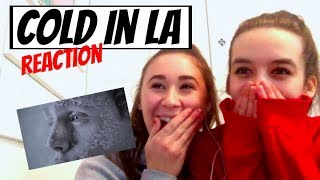 Reacting To Cold In LA Music Video    Why Don't We