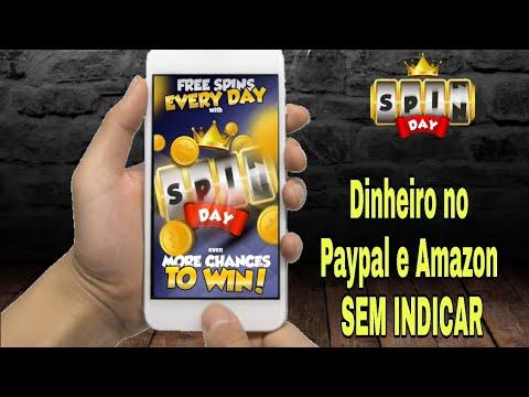 Como Ganhar Dinheiro no Paypal e Amazon Sem Convidar - Spin Day