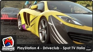 PlayStation 4 - DriveClub - Spot TV Italia (2013)