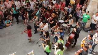 Flashmob - Bolero de Ravel na Pinacoteca de São Paulo, Brasil, Conservatoire de Paris, GURI & EMESP