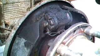 Volvo TP21 Sugga - Removing Brake Shoes