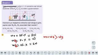 Eğitim Vadisi 11.Sınıf Fizik 9.Föy Enerji ve Hareket 1 Konu Anlatım Videoları