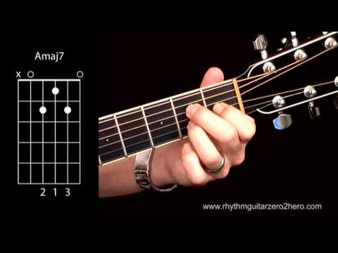 Learn Guitar Chords: A Major 7 - Beginner Acoustic Guitar Lessons