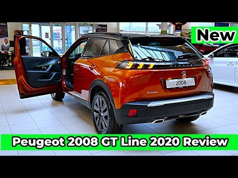 NEW Peugeot 2008 GT Line 2020 Review Interior Exterior