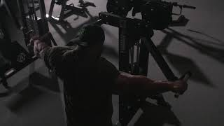 FLEX LEWIS on the M-1 Standing Lateral Raise