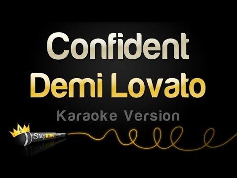 Demi Lovato - Confident (Karaoke Version)
