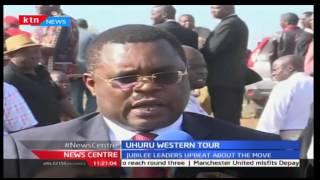 News Center: Bungoma Governor Kenneth Lusaka awaits President Uhuru Kenyatta on Government tour