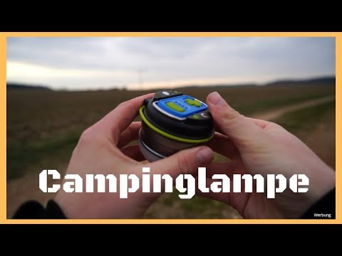 Meine perfekte Campinglampe 💡 - Lighting EVER LE LED Campinglampe / Review #007 / Deutsch