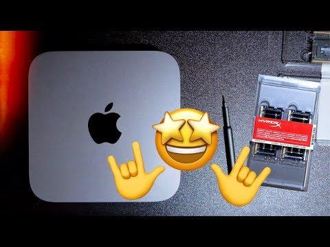 ?Mac mini 2018 ОЗУ 32Gb!?АПГРЕЙД!?♂️Все работает!?