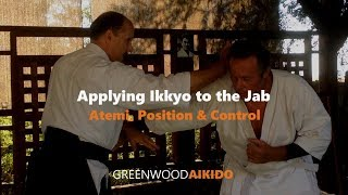 Applying Ikkyo To The Jab