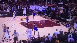 LEBRON JAMES KICKS IGUODALA IN THE LOWER AREA | June 7, 2017 Warriors Vs Cavs