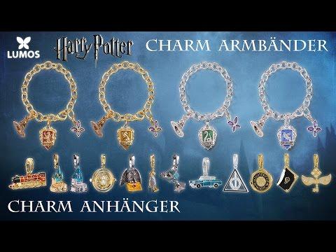 Harry Potter: Lumos-Armbänder und Charm-Anhänger