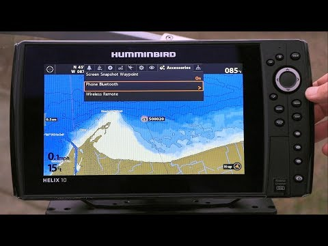 How To Use Humminbird Helix 7 Si