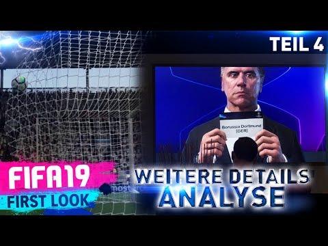 FIFA19 ● WEITERE DETAILS, LOGOS & TORNETZ ►FIRSTLOOK ANALYSE TEIL 4