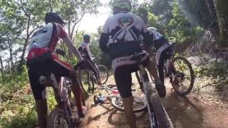 preview picture of video 'Los Monteros MTB Club en nuestra Vuelta al Lago - Enero 2015'