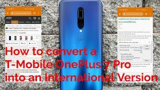 t mobile oneplus 7 pro to international - Thủ thuật máy tính - Chia