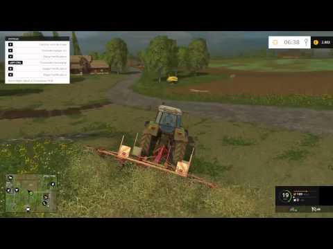 Farming Simulator 2015 - Tutorial Alpacas de Heno o Hierba - Gameplay HD Español
