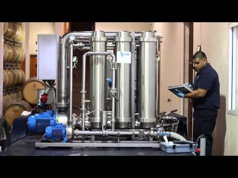 Mobile Filtrations Crossflow Demo