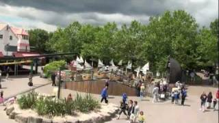 preview picture of video 'Safari Skyway - Chessington - TPR UK Trip 2010 - Onride'