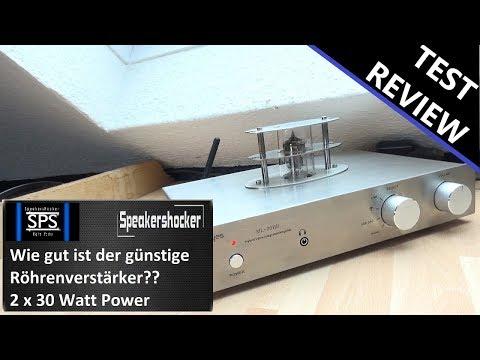 Röhren Verstärker Steljes ML-30HD Review, Test und Soundcheck. Was kann der Röhrenverstärker?