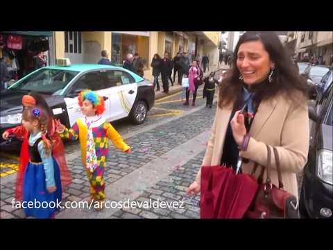 Carnaval da Pequenada em  ❤️ Arcos de Valdevez ❤️ - 9 Fev 2018