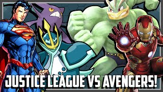 Pokemon Theme Battle - Avengers vs Justice League Ft. Original151