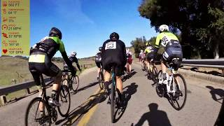 Santa Barbara County Road Race 55+/60+ with commentary (Bicycle Racing)