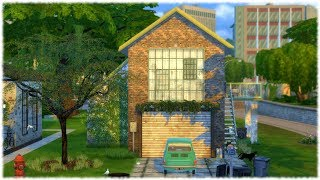 The Sims 4: Speed Build // STRUGGLING SINGLE MOM HOUSE + CC Links