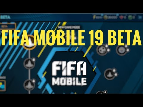 FIFA MOBILE 19 BETA IOS HOW TO DOWNLOAD LINK IN DESCRIPTION
