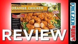 Crazy Cuizine Mandarin Orange Chicken Video Review: Freezerburns (Ep619)
