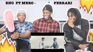 ENO Feat. MERO   Ferrari (Official Video)   REACTION