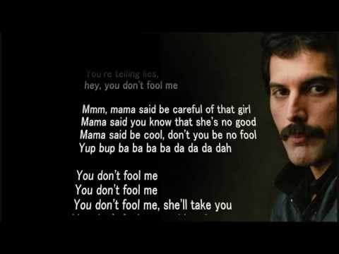 "Queen - You Don´t Fool Me - HQ - Scroll Lyrics ""22"""