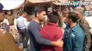 कलेक्टर ने सेना के जवान को मारा थप्पड़ पुलिस वाले ने कहा निकल गई तेरी आर्मी गिरी.. By Anand indoori