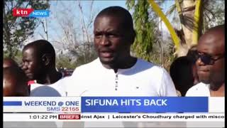 Edwin Sifuna: As a luhya man I was not raised to hit women or talk back at women