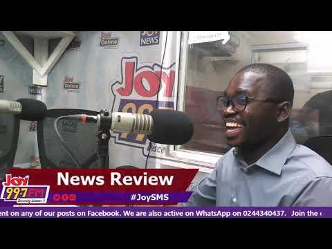Newspaper Review - #JoySMS on Joy FM (4-10-18)