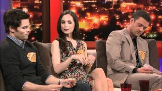 ROVE LA - Random Question Hat - Justin Timberlake, Eliza Dushku & James Marsden