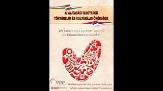 A vajdasági magyarok kulturális öröksége kiállítás