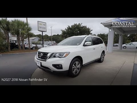 Certified Pre-Owned 2018 Nissan Pathfinder 4x4 SV