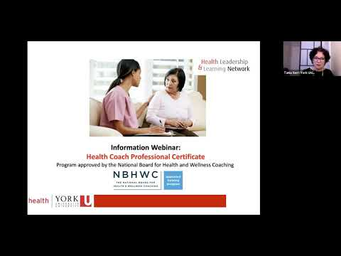 Information Session: Health Coach Professional Certificate - YouTube