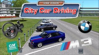 City Car Driving - BMW M3 E30 Drift School (DAY 1)
