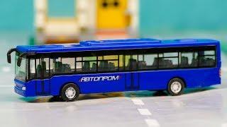 Новая Машинка Городской Автобус, Бензовоз, Машина МЧС 268 Серия Мир Машинок Мультик про машинки