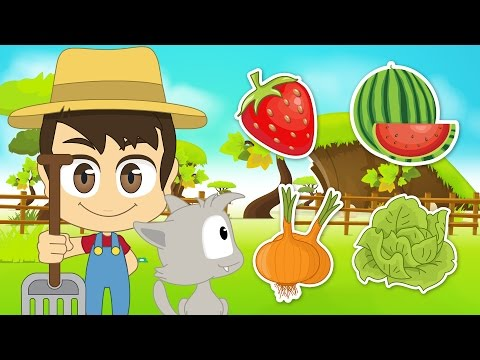 Fruits and Vegetables in Arabic for Children - اسماء الخضر و الفواكه للأطفال باللغة العربية