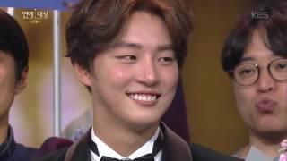 2016 KBS 연예대상 2부 - 2016 KBS 연예대상 - '신바' 김종민! 축하하쟈나♥. 20161224