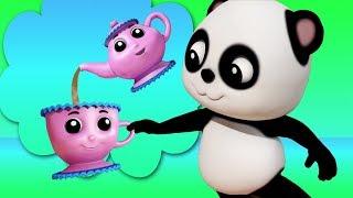 تحميل اغاني أنا ليتل ابريق الشاي باو الباندا الأغاني التعليمية قصائد الأطفال Kids Songs I Am A Little Teapot MP3