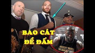 HLV Của Deontay Wilder Tuyên Bố Tyson Fury Sẽ Là BAO CÁT Để Ăn Đấm