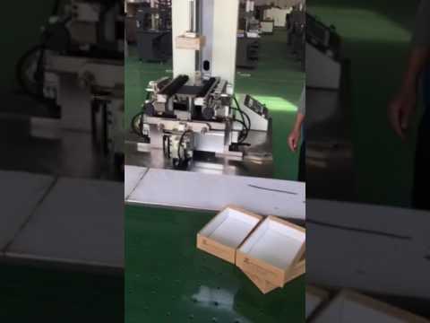 Maquina Forradora de Caja Rigida Rectangular CHAMPION