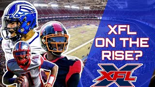 Is the XFL on the RISE? What the XFL has that the Alliance of American Football didnt...