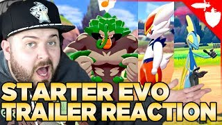 Starter Evolution Trailer Reaction... 12 Days post-launch Pokemon Sword and Shield